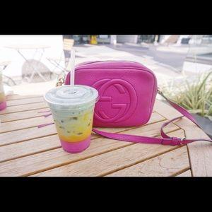 Gucci soho pink disco bag